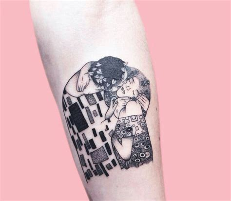 kiss tattoo design best 25 klimt ideas on coolest half
