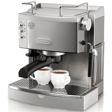 shop de longhi stainless steel manual espresso machine at