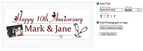 Wedding Anniversary Banners by Design Banners For Wedding Anniversaries And Much More