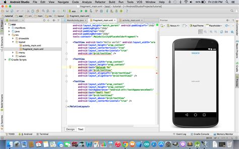 android studio get layout android studio layout edit 246 r 252 geleceği yazanlar