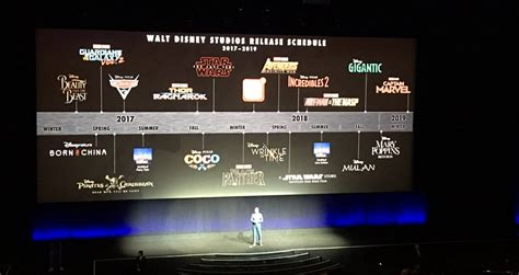 disney movie schedule 2017 disney s upcoming movies slate gives us our first look at