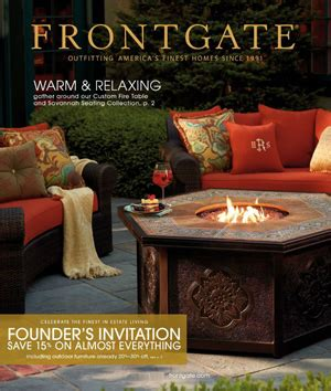 frontgate gate frontgate catalog