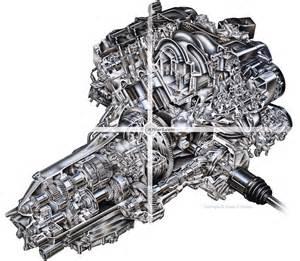 acura rl engine cutaway