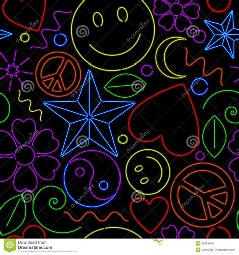 neon pattern wallpaper seamless neon pattern stock images image 32452424