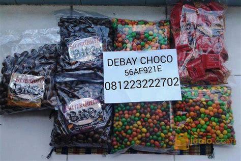 Delfi Chapeanut Chaca Isi Kacang 1kg coklat kiloan surabaya jualo