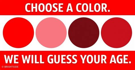 color difference test a color test that can tell your mental age