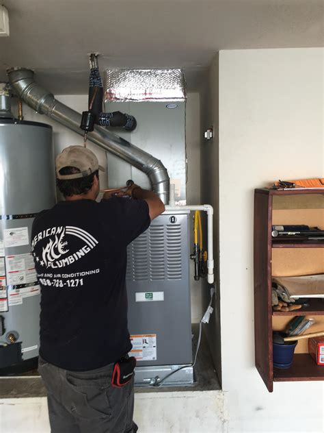 Plumbing Contractors San Diego by American Ace Plumbing Heating And Air Conditioning In San