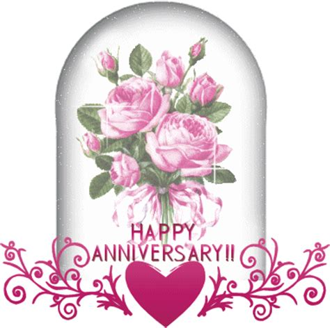 Wedding Anniversary Clip Animation by Animated Happy Anniversary Clip Clipart Best