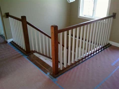 indoor stair railings interior stair railing provided by vanderhoff construction