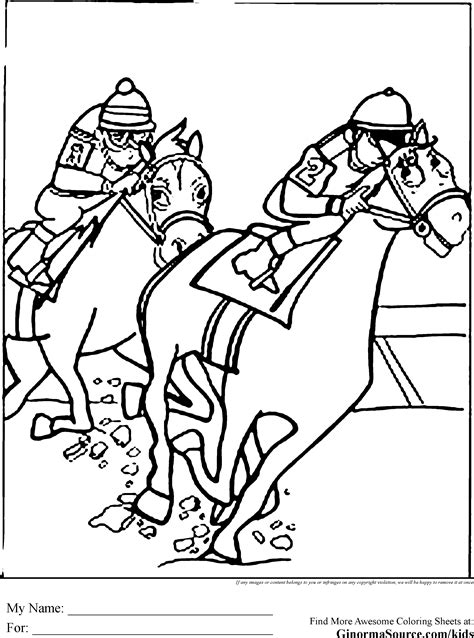 coloring pages of race horses coloring pages of horses coloring pages pinterest horse