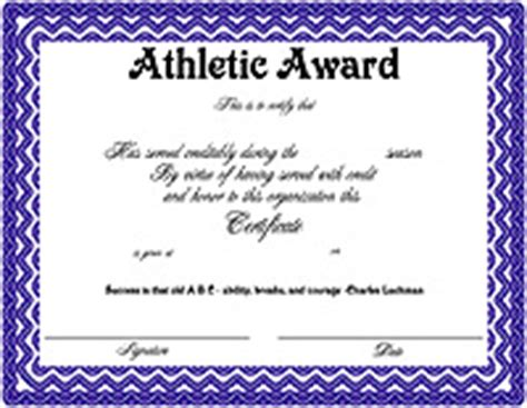 sports award certificate template athletic certificates driverlayer search engine