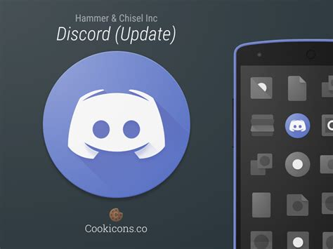 discord checking for updates discord product icon update by cookicons dribbble