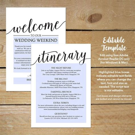 wedding welcome note template best 25 wedding itinerary template ideas on wedding day itinerary wedding timeline