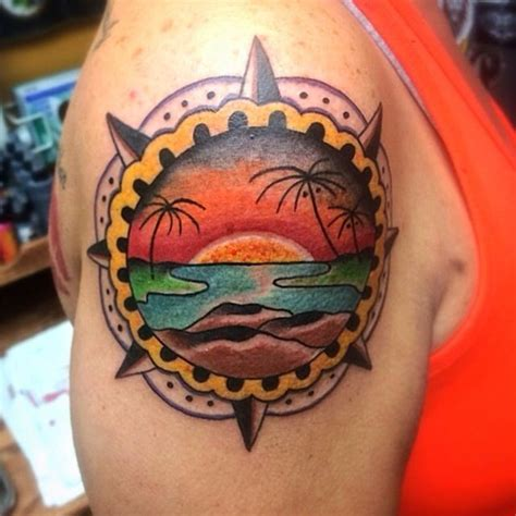 beach scene tattoo designs 1000 images about ideas on