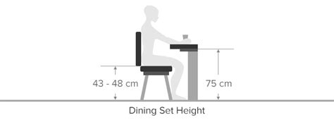 height of a dining chair dining chair buying guide atlantic shopping