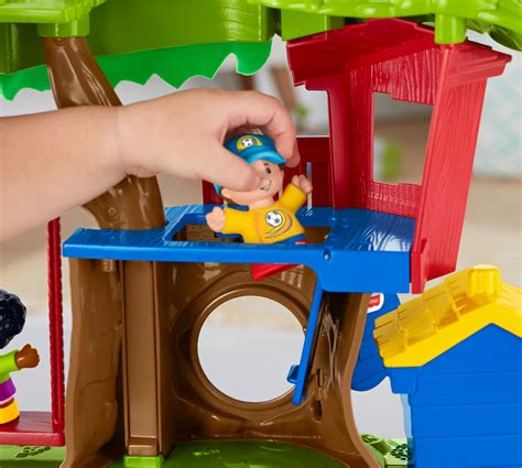 fisher price tree swing fisher price little people swing and share treehouse