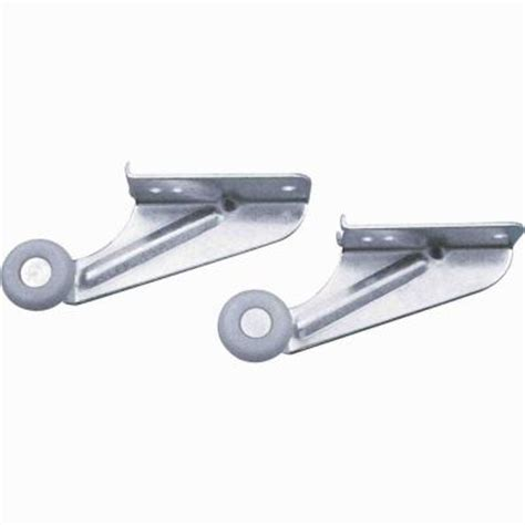 kitchen cabinet drawer rollers prime line 22 1 2 in rolled edge drawer track kit r 7125
