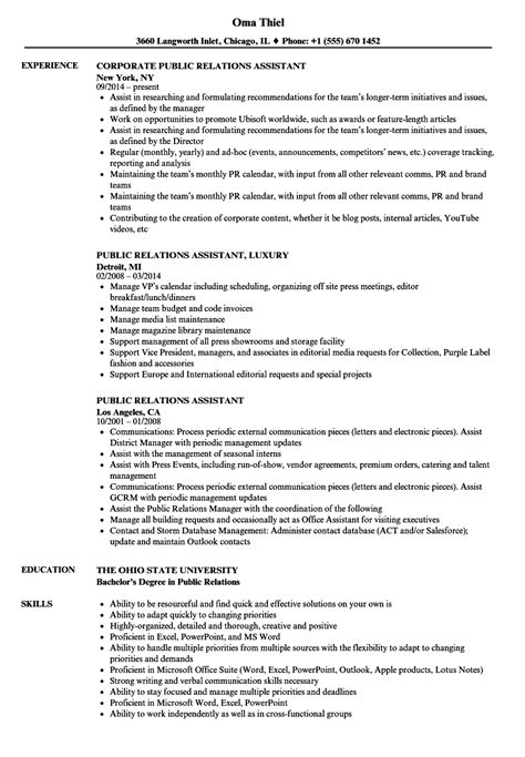 Entry Level Public Relations Resume Examples Military Bralicious Co