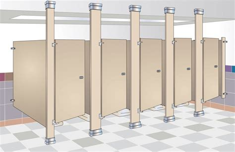 bathroom partitions commercial floor to ceiling braced commercial bathroom partitions