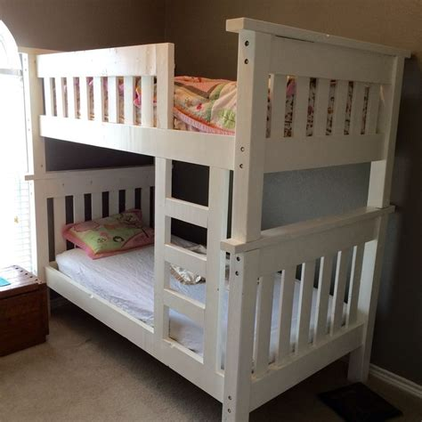 do it yourself bunk beds my bunk bed build do it yourself home projects from ana white ideas for the house