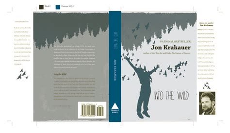 book jacket layout indesign into the wild book cover indesign by stephanie hammond