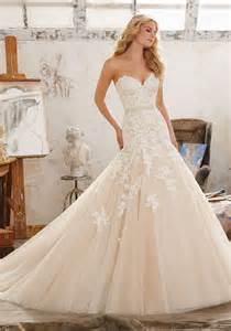 Mori Lee Wedding Dress View Dress Mori Lee Bridal Spring 2017 Collection 8101 Mackenzie Frosted Embroidered