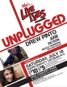 ives concert park – wxci presents live at the ives: unplugged