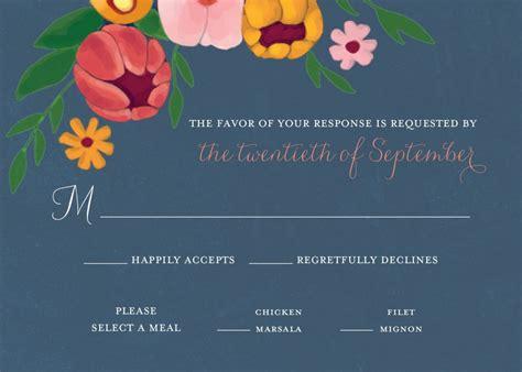 unique rsvp cards show me your rsvp card wording weddings rsvp by