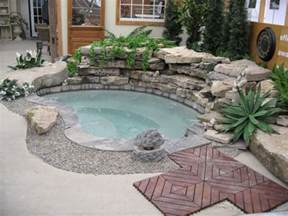 backyard tub best 25 outdoor spa ideas on outdoor