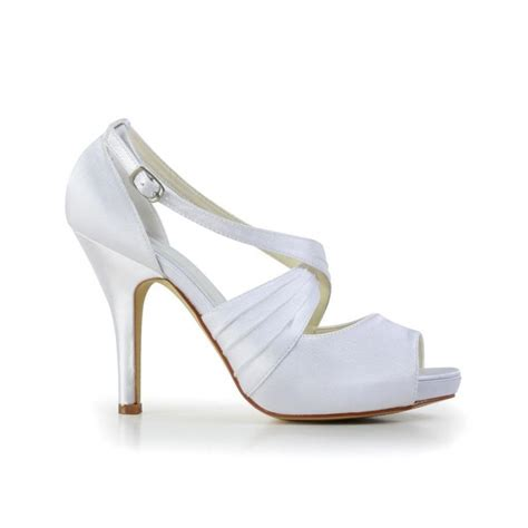 Wedding Shoes With Ankle by Ankle Peep Toe Wedding Shoes Bridal Shoes