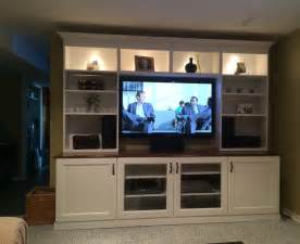 ikea tv cabinet hack white ikea besta entertainment center with recessed