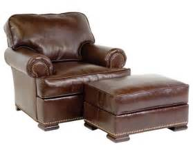 Small Leather Chairs With Ottomans Leather Chairs And Ottomans