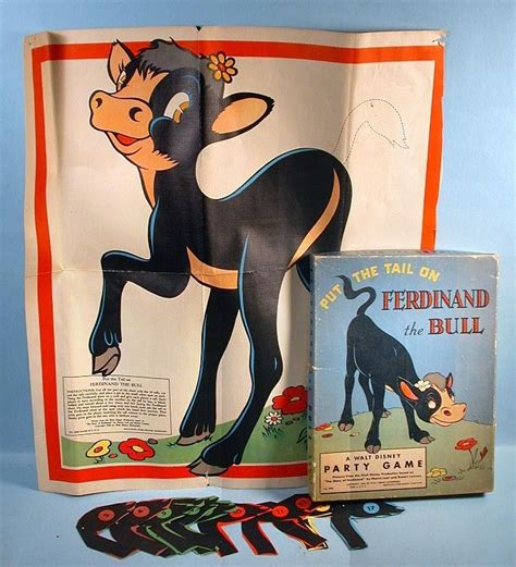 tyren ferdinand film dansk ferdinand the bull pin the tail party game with box walt