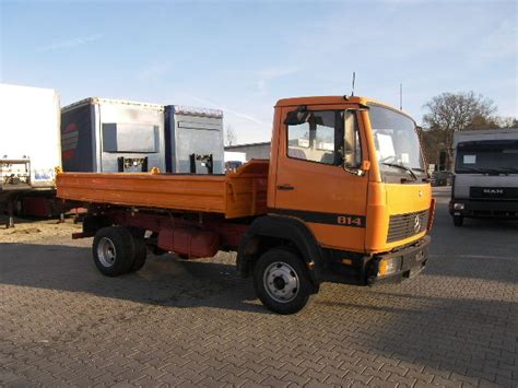 mercedes 814 tipper from poland for sale at truck1