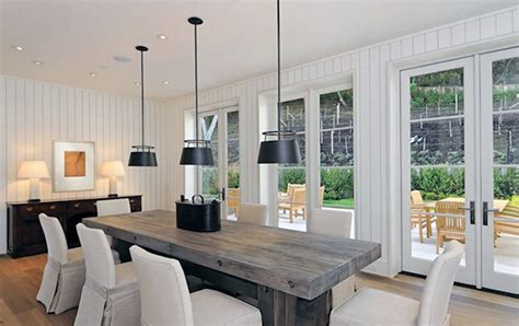 wood dining table with white chairs 34 incredbile reclaimed wood dining tables