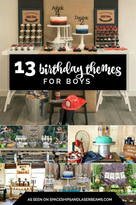 Ee  Birthday Ee   Themes For Boys Spaceships And Laser Beams
