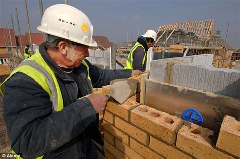 Online House Builder bricklayers pay goes through the roof to 163 40 000 a year