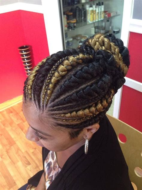 big braids for updo big cornrow hairstyles for women big small cornrows