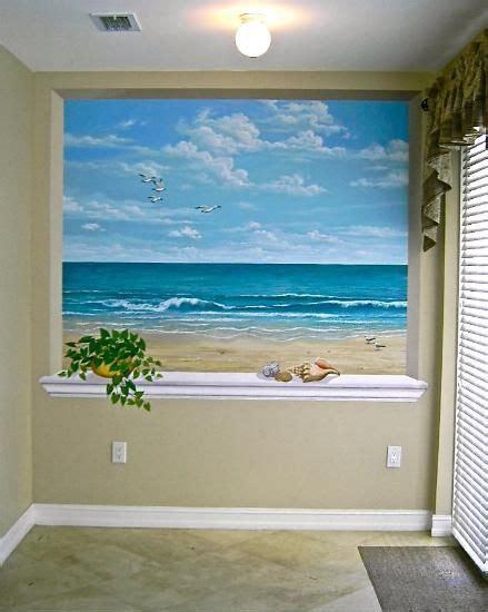beach murals for bedrooms beach mural on pinterest ocean mural turquoise bathroom