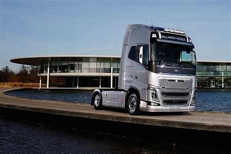 volvo 800 truck mclaren partners with volvo trucks pitpass com