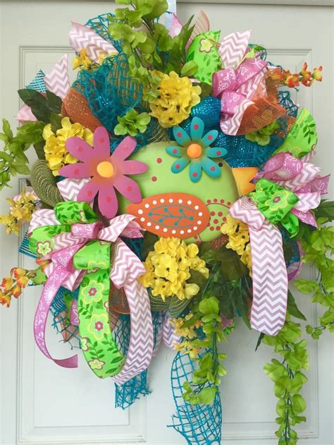 1110 Best Spring And Summer Wreaths Images On Pinterest Spring | 278 best spring summer wreaths images on pinterest