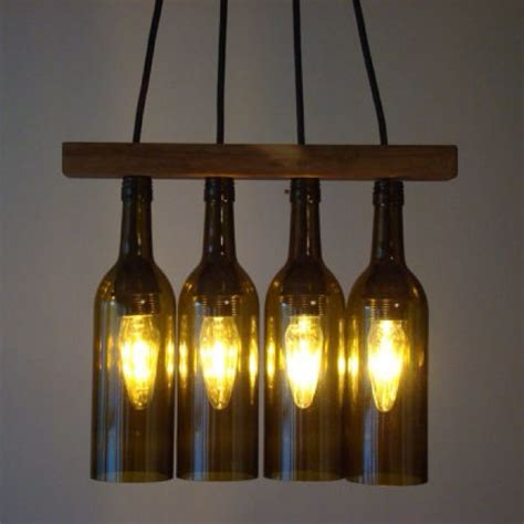 Wine Bottle Chandelier Wine Bottle Chandelier For The Home