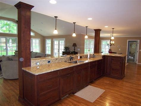 elegant kitchen islands elegant kitchen remodel and home addition by ak complete