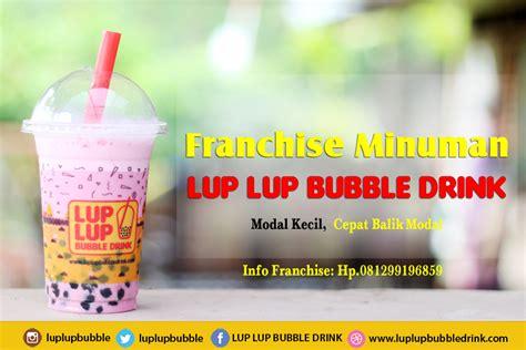 Lu Proji Yang Murah franchise murah minuman lup lup drink bisnis