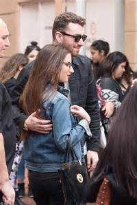 sam smith fan sam smith greets fans as he is mobbed ahead of adelaide
