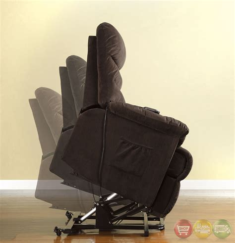 recliner chairs perth perth cocoa brown recliner chair with stand assist power