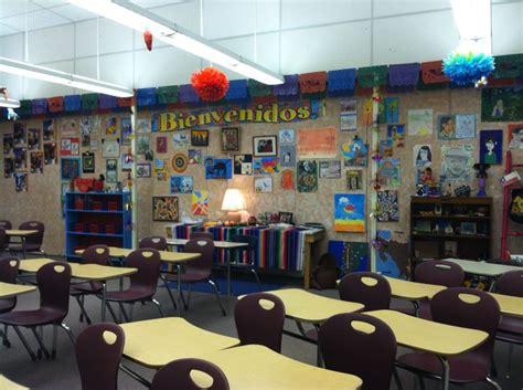 educational themes for high schools classroom idea spanish classroom decorating ideas