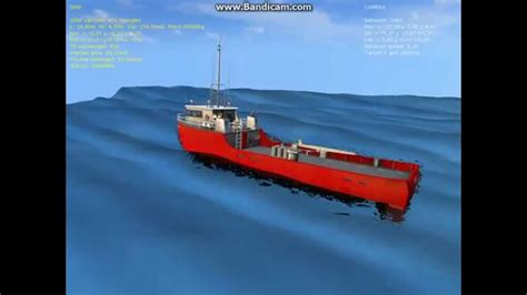 basic simulation of ship motion in regular waves youtube - Ship Motion