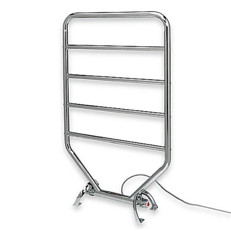 bed bath and beyond towel warmer traditional towel warmer and dry rack chrome bed bath