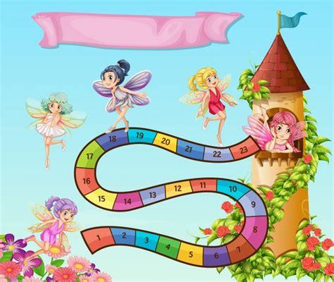 giochi da tavolo gratis da scaricare modello di gioco da tavolo con fate volare in giardino